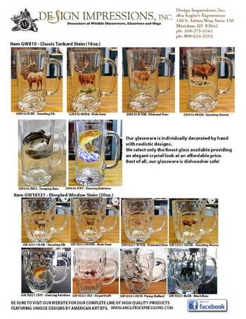 Product Sheet - Glass Steins #GWGlassStein