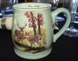 BL10194.CustomND - Fresh Meadow Green Bell Mug - Standard Artwork  with Name Drop BL10194.LWCSL