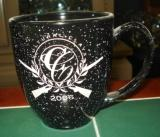 BM10111E.Custom - 16oz. Bistro Mug Etched with Custom Logo BM10111E.Custom