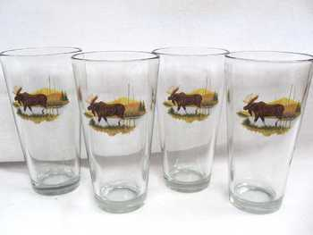 GP10272.LMW - Tavern 20oz Scenic Moose (Set of 4) #GP10272.LMW