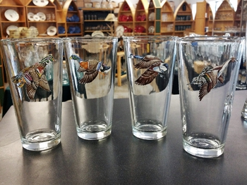 GP10272.WFLA - Tavern 20oz - Waterfowl Bird Series (Set of 4) #GP10272.WFLA
