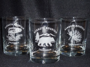 Round 13.5oz. Hi-Ball Glasses - Standard Designs with Name Drop #GW432_Custom