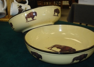 Lodge Collection Serving Bowl - Buffalo #LC10052.BUF