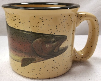 TM10148.RBWH - Almond 15oz Rainbow Trout Trail Mug #TM10148.RBWH