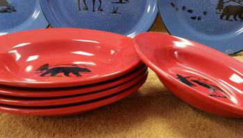 WS10312SB - Crimson Red Bowl Only #WS10312SB