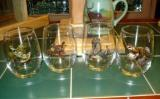 Stemless Wine Goblets 3 Size Options - Full Color- Upland Game Birds (Set of 4) GW10202.UPLA