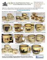 Product Sheet - Almond Trail Mugs TM10148