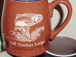 BL10195E.Custom - Bell 16oz. Mugs Etched std Design with Name Drop BL10195E.Customnd