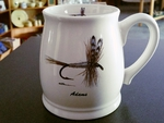 BL10262.ADM - Bell Mug - Bright White - Adams Dry Fly BL10262.ADM