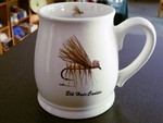 BL10262.EHC - Elk Hair Caddis Dry Fly 16oz. White Bell Mug BL10262.EHC