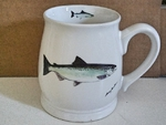 BL10262.KNG - KING Salmon 16oz. White Bell Mug  BL10262.KNG