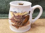 BL10262.PHFC - Bell Mug - Bright White - Pheasant Couple BL10262.PHFC