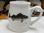 BL10262.WLY - Bell Mug - Bright White - Walleye BL10262.WLY