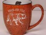 BM148E.Custom - Terra Cotta  Bistro Mug - std Design with Name Drop BM148E.Customnd