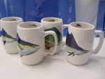 GP10263.OFFA - Barrel Mugs - Offshore Fish Series GP10263.OFFA