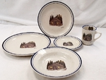 CR10318.CBN - 20pc Classic Rustic Cabin Dinnerware Set CR10318.CBN