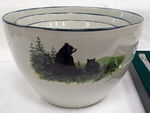 CS10275.LBF - Cabin Series 3pc Bear and Cubs Serving/Mixing Bowl Set CS10275.LBF