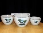CS10275.LLW - Cabin Series 3pc Scenic Loon Serving/Mixing Bowl Set CS10275.LLW