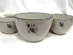 CS10275.PINE - Cabin Series 3pc Pine Cone Serving/Mixing Bowl Set CS10275.PINE