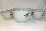 CS10275.WFLA - Cabin Series 3pc Waterfowl Serving/Mixing Bowl Set CS10275.WFLA