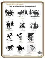 Catalog of Silhouette Artwork COD_SIL