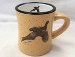 DM10307.PHS - 10oz. Almond Diner Mug - Flying Pheasant DM10307.PHS