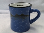 DM10308.STB - 10 oz. Ocean Blue Diner Mug - Striped Bass DM10308.STB