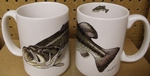 EL113.LMBF - 15 oz. Large Mouth Bass El Grande Mug EL113.LMBF