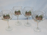 GP10137.CBN - 19oz. Elegance Balloon Rustic Cabin Wine Glasses (Set of 4) GP10137.CBN