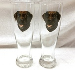 GP821.CLAB - Chocolate Lab Head Pilsner (2pc Set) GP821.CLAB