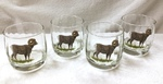 GP842.BHS - Round Optic 14oz. Hi-Ball - Big Horn Sheep (Set of 4) GP842.BHS