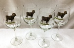 GP844.BHS 19oz. Elegance Optic Big Horn Sheep Tulip Wine Glasses (Set of 4) GP844.BHS