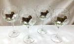 GP846.BHS 19oz. Elegance Optic Big Horn Sheep Balloon Wine Glasses (Set of 4) GP846.BHS