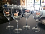 GP890.BGMB - Wine Goblet (set of 4) - 11oz. - Big Game Animal Series GP890.BGMB