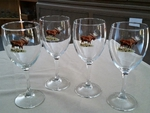 GP890.MOSB - Wine Goblet (set of 4) - 11oz. - Full Color Moose Body GP890.MOSB