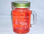 GW10320E.ELK.RME - 16oz. Mason Drinking Jar - Engraved - Bugling Elk with Rocky Mountain Bugling Elk  Name Drop GW10320E.ELK.RME