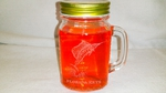 GW10320E.SLF.FK - 16oz. Mason Drinking Jar - Engraved - Sailfish with Florida Keys Name Drop GW10320E.SLF.FK