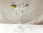 GW845.OFFA - Optic 14.5oz. Margarita Glass - Offshore Fish Series GW845.OFFA