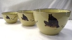 Lodge Collection 3pc Serving/Mixing Bowl Sets