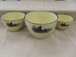 LC10277.LBF - Lodge Collection Bear and Cubs 3pc Serving/Mixing Bowl Set LC10277.LBF