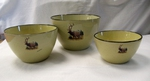 LC10277.LEM - Lodge Collection Scenic Elk 3pc Serving/Mixing Bowl Set LC10277.LEM