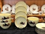 LC10278.LBB - Lodge Collection 5pc Bear on Log Pasta/Salad Set LC10278.LBB