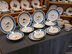 OS10220.OFFA - 16pc Outdoor Sportsman Offshore Fish Dinnerware Set OS10220.OFFA
