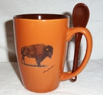 SB10301.BUF - Terracotta Rust with Buffalo SB10301.BUF