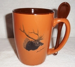 SB10301.ELKA - Terracotta Rust with Elk Head SB10301_ELKA