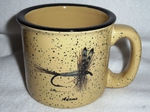 TM10148.ADM - Almond 15oz Trail Mugs  - Adams Dry Fly TM10148.ADM