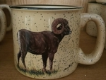 TM10148.BHS - 15oz Almond Trail Mug - Big Horn Sheep TM10148.BHS