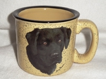 TM10148.BLAB - Almond 15oz Black Lab Trail Mug TM10148.BLAB