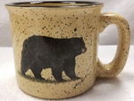 TM10148.BLKB - 15oz Almond Trail Mug - Black Bear TM10148.BLKB