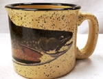 TM10148.BRKH - Almond 15oz Brook Trout Trail Mug TM10148.BRKH